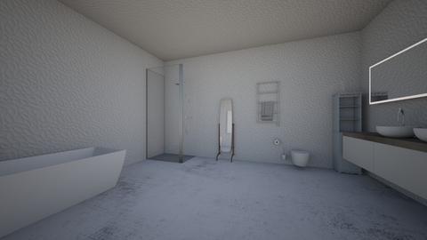 white ocean - Bathroom - by 27jfinklea