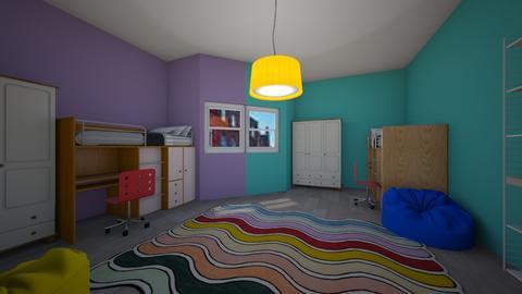 kids r - Kids room  - by BrnMstfKml