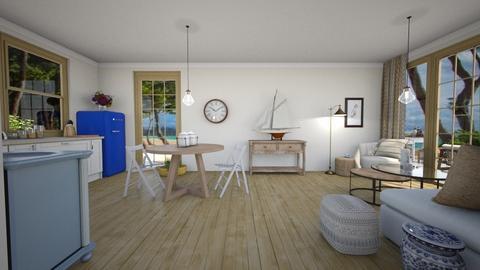 N11120 4 - Living room  - by AleksandraZaworska98