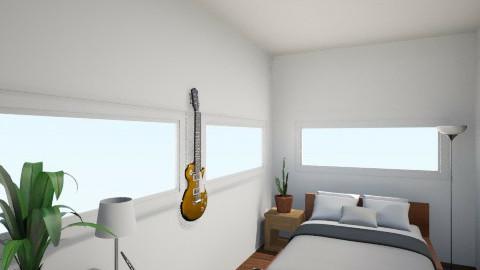 Bedroom V.1 - Bedroom - by Doomedpizza