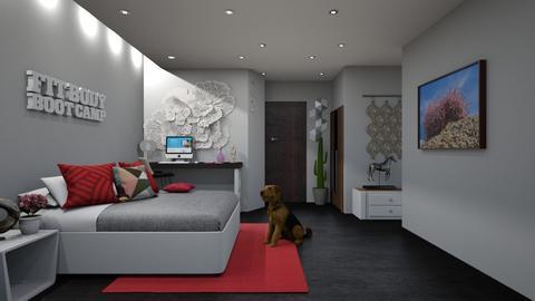 D - Modern - Bedroom  - by marielisa_32_32