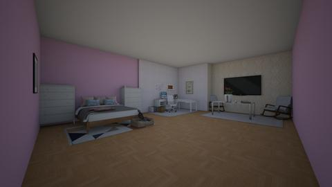 Project 1 to be edit - Modern - Bedroom  - by kage_of_the_anime_village_yumi