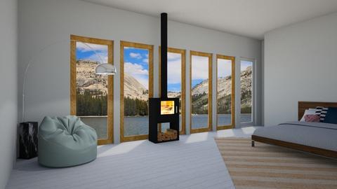 wood - Bedroom  - by herrincook