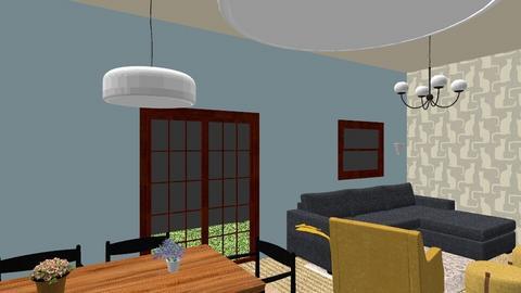 ON30METERS - Vintage - Living room  - by NikkaJ