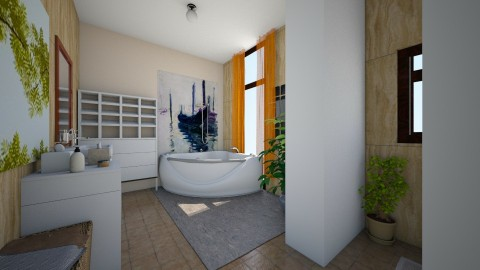 furdo120 - Minimal - Bathroom - by Ritus13