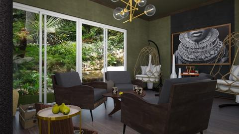 Hakuna Matata - Living room  - by rechnaya