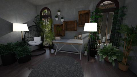 Rustic indoor retreat - Rustic - by MackenziePaige