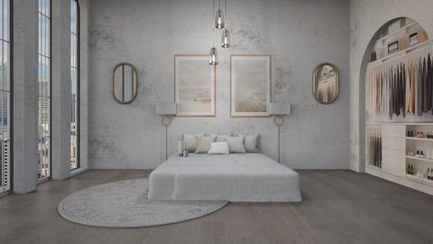 C H L O E - Modern - Bedroom  - by evabarrett