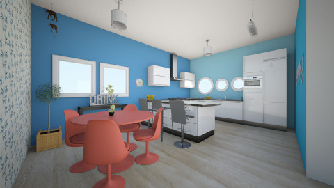 Cocina - Kitchen  - by Ingrid Design