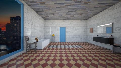 Freestanding Tub - Feminine - Bathroom  - by RODIO124