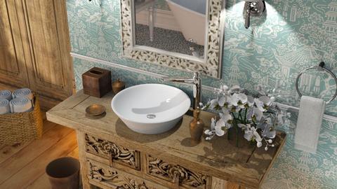 516 - Feminine - Bathroom  - by Claudia Correia