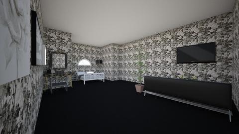 darkness - Bedroom  - by frisbir20