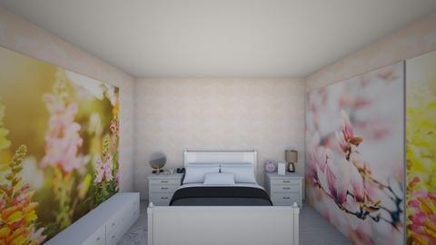 habitacion para chica - Modern - Bedroom  - by yanis rodriguez