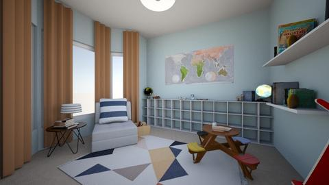 The Chapmans Playroom - Minimal - Kids room - by Roomandrose