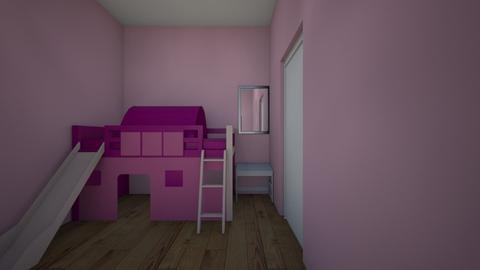 Parkbuurt bouwnr 30 si 1 - Kids room  - by vanellende