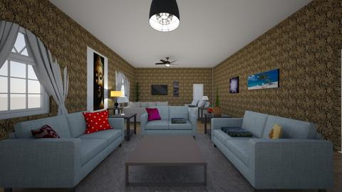 My living room - Living room  - by orlandoc