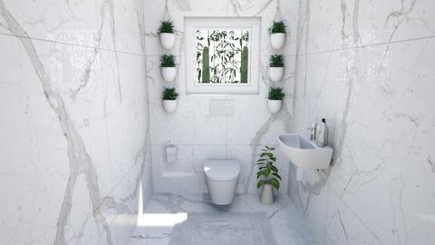 Arty Toilet - Minimal - by Lambogirl