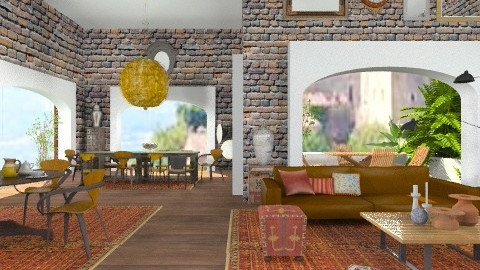 Histria - Eclectic - Living room  - by lilica