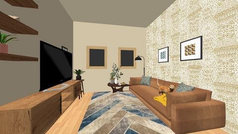 sala - Vintage - Living room  - by annamassi