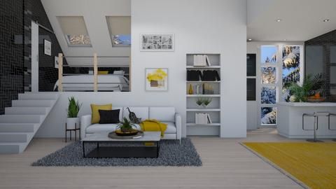 Apartment Remix - Modern - Living room  - by crystal_clear_skies