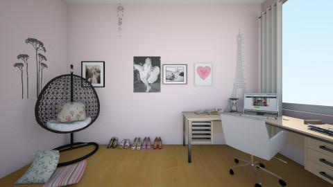 office in france - Feminine - Office - by pikachuXtoriX