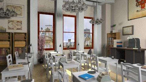 classroom - Modern - Office  - by vovisanija