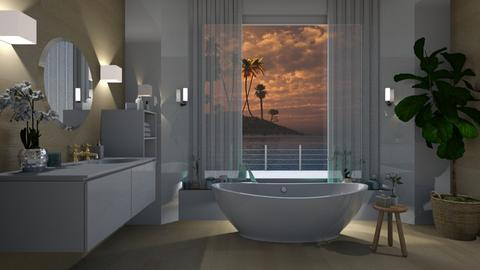 Bath in the Island  - Modern - Bathroom  - by Elya Vovak