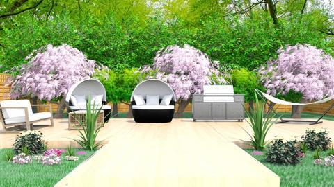 Backyard - Garden  - by Tanem Kutlu