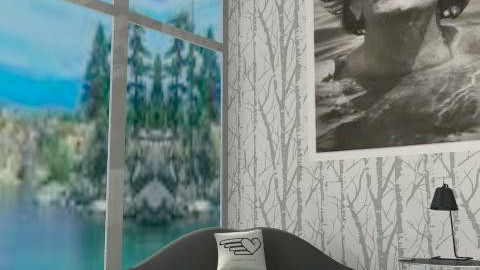 minimal living-room - Minimal - Living room  - by ATELOIV87
