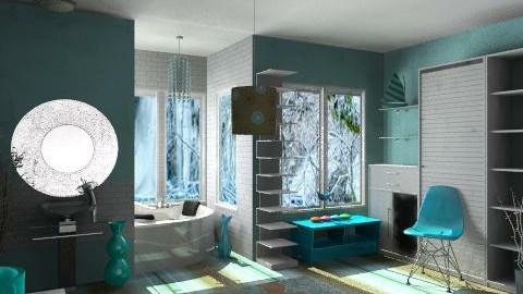 Bathroom - Modern - Bathroom  - by Karenina