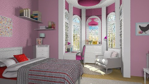 intelectual bedroom - Classic - Bedroom  - by Maria_Julia
