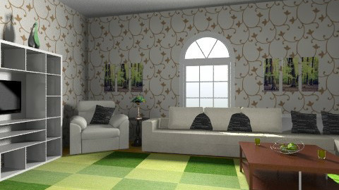 cheryls room - Country - Living room  - by AshiraLevana