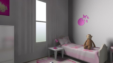 Girl Room - Modern - Kids room  - by Jellybabe