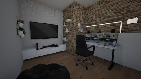 gamer room - Bedroom  - by tag21