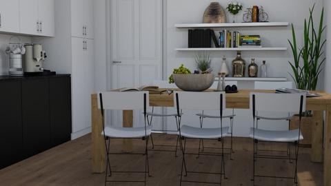 Test - Dining room  - by Tuija