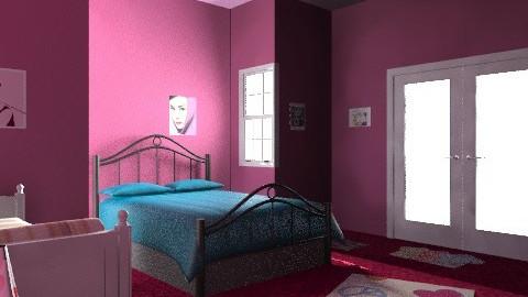 Livin' in paris - Vintage - Bedroom  - by prettygurlmya