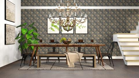 Grand Chandelier - Dining room  - by millerfam