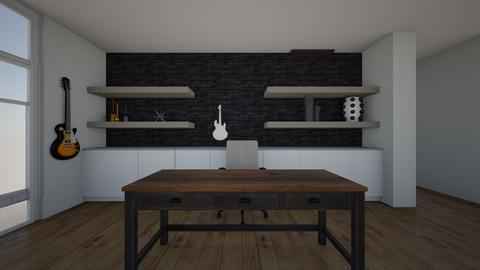 kooby office - Living room - by noobonnet