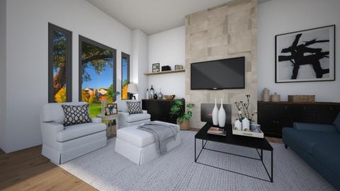 familiy room2 - Living room - by nuray kalkan