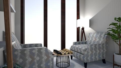 skandi bedroom - Bedroom - by vikyyym
