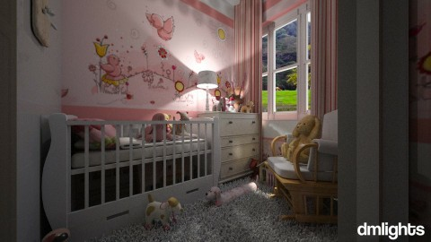 M baby - Kids room  - by DMLights-user-1490489
