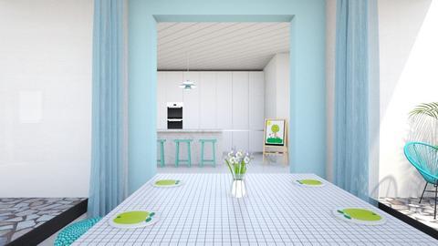 Happy Kitchen - Kitchen - by Carl Grimes