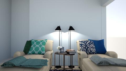 Living dos Dengos - Living room  - by Fernanda Luisa