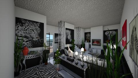 Black Beauty - Modern - Living room  - by Irishrose58