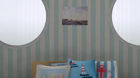 Nautical Room - Bedroom - by millie510