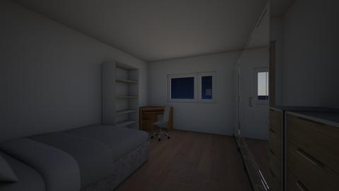 New Room - Bedroom  - by Lovethewild123
