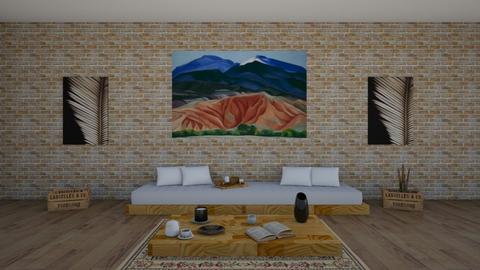 okeffe l - Living room - by judsonek