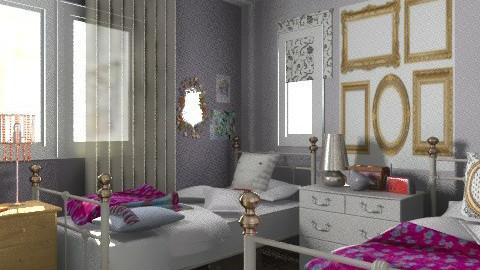 my room - Eclectic - Bedroom  - by mrschicken