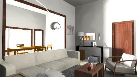 gaston 3 - Vintage - Living room  - by eugeb