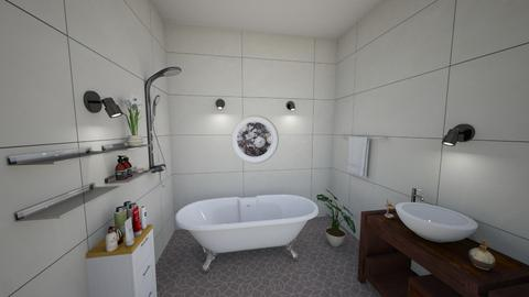 Art Deco Bath - Eclectic - Bathroom  - by WeLoveU